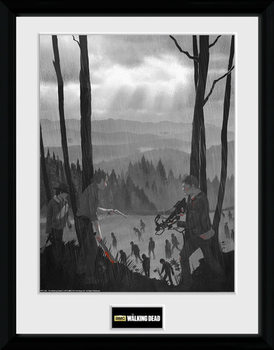 The Walking Dead - The Long Way Home plastic frame
