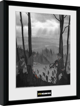 The Walking Dead - The Long Way Home Framed poster