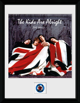 The Who - The Kids ae Alright plastic frame