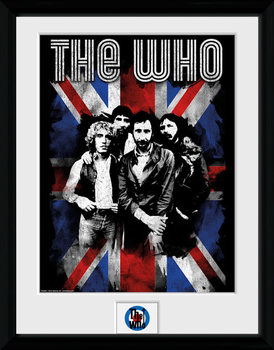 The Who - Union Jack plastic frame