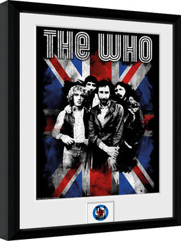 The Who - Union Jack Framed poster