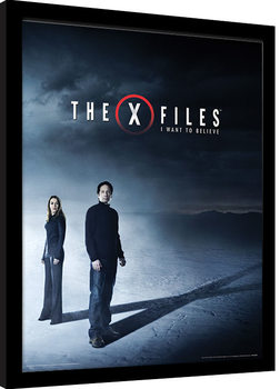 The X-Files - I Want to Believe Framed poster
