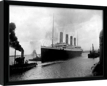 Framed poster TITANIC (4)
