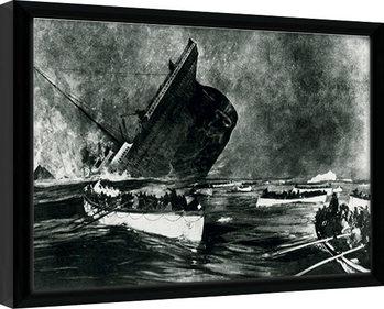 Titanic Framed poster