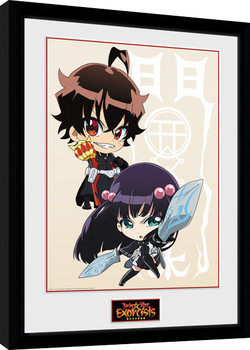 Twin Star Exorcists - Chibi Framed poster