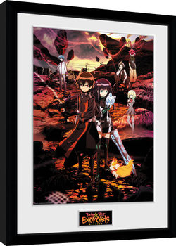 Twin Star Exorcists - Key Art Framed poster