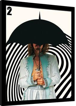 Framed poster Umbrella Academy - Klaus