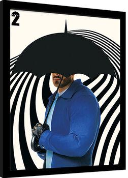 Framed poster Umbrella Academy - Luther