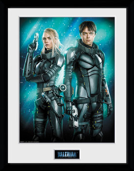 Valerian - Duo Framed poster
