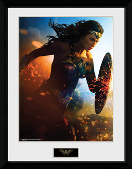 Wonder Woman - Run plastic frame
