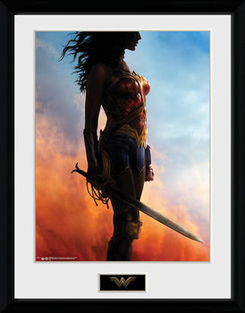 Wonder Woman - Stand plastic frame