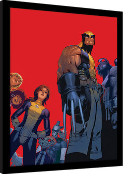 X-Men - Wolverine And The X-Men Framed poster