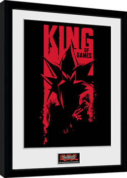 Yu Gi Oh - Dark Side of Dimension King of Games Framed poster