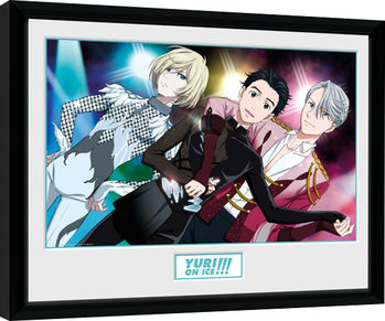 Yuri On Ice - Trio Framed poster