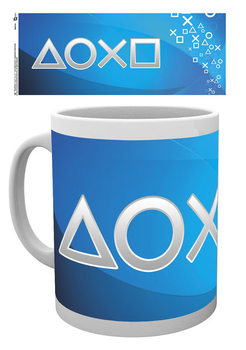 Cup Playstation - Silver Buttons