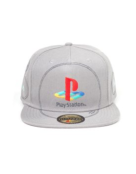 Cap Playstation  - Silver Logo