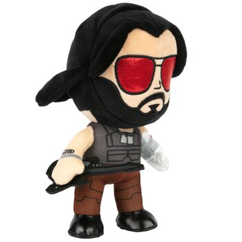 Plush toy Cyberpunk 2077 - Johnny Silverhand
