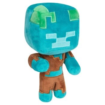 Plush figure Minecraft - Happy Explorer Drowned