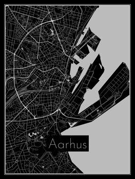 Map of Aarhus