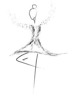 Illustration Balerina