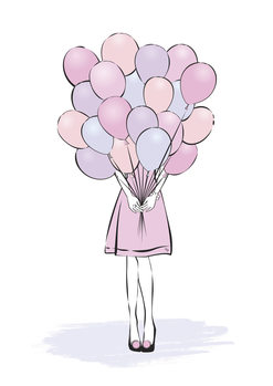Illustration Balloons