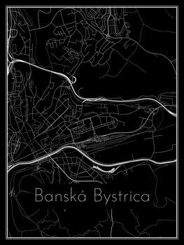 Map of Banská Bystrica