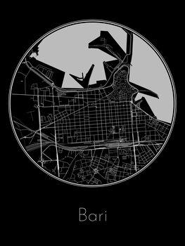 Map of Bari