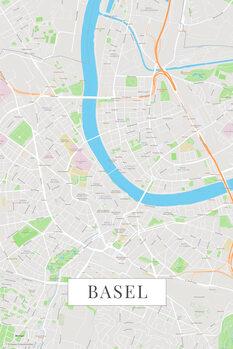 Map Basel color