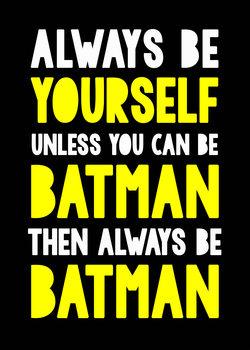 Illustration batman