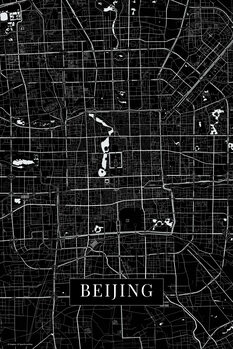 Map of Beijing back