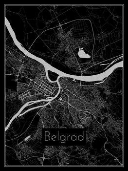 Map of Belgrad
