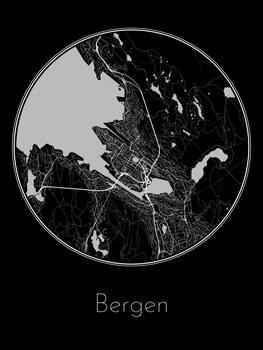 Map of Bergen