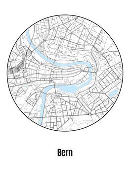 Map of Bern