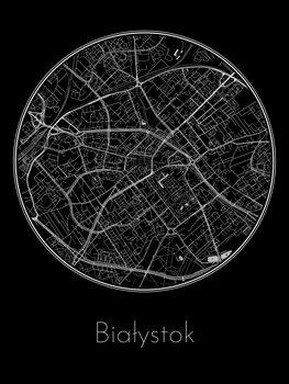 Map of Białystok