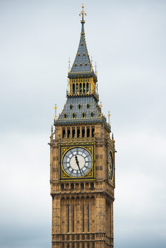 Art Print on Demand Big Ben Clock Tower