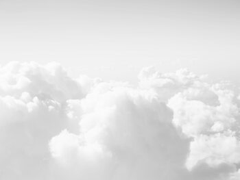 Illustration Black and white clouds