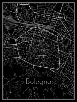 Map of Bologna