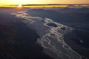 Art Print on Demand Braided River