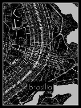 Map of Brasília