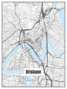 Map of Brisbane