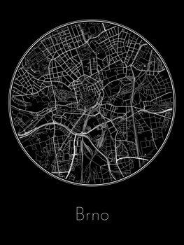 Map of Brno