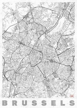 Map of Brussels