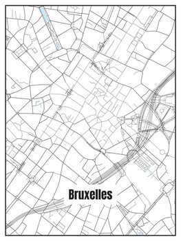 Map of Bruxelles