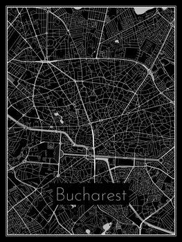 Map of Bucharest