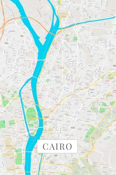 Map Cairo color