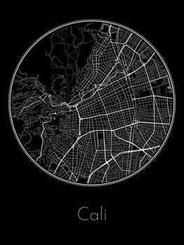 Map of Cali