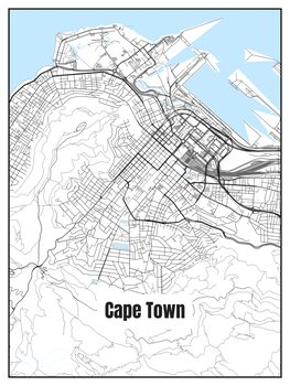 Map Cape Town