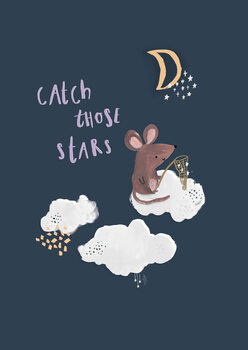 Illustration Catch those stars.