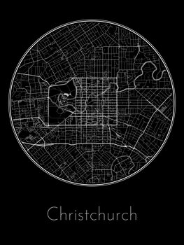 Map of Christchurch