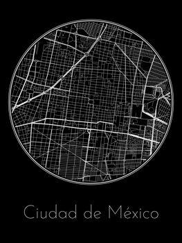 Map of Ciudad de México